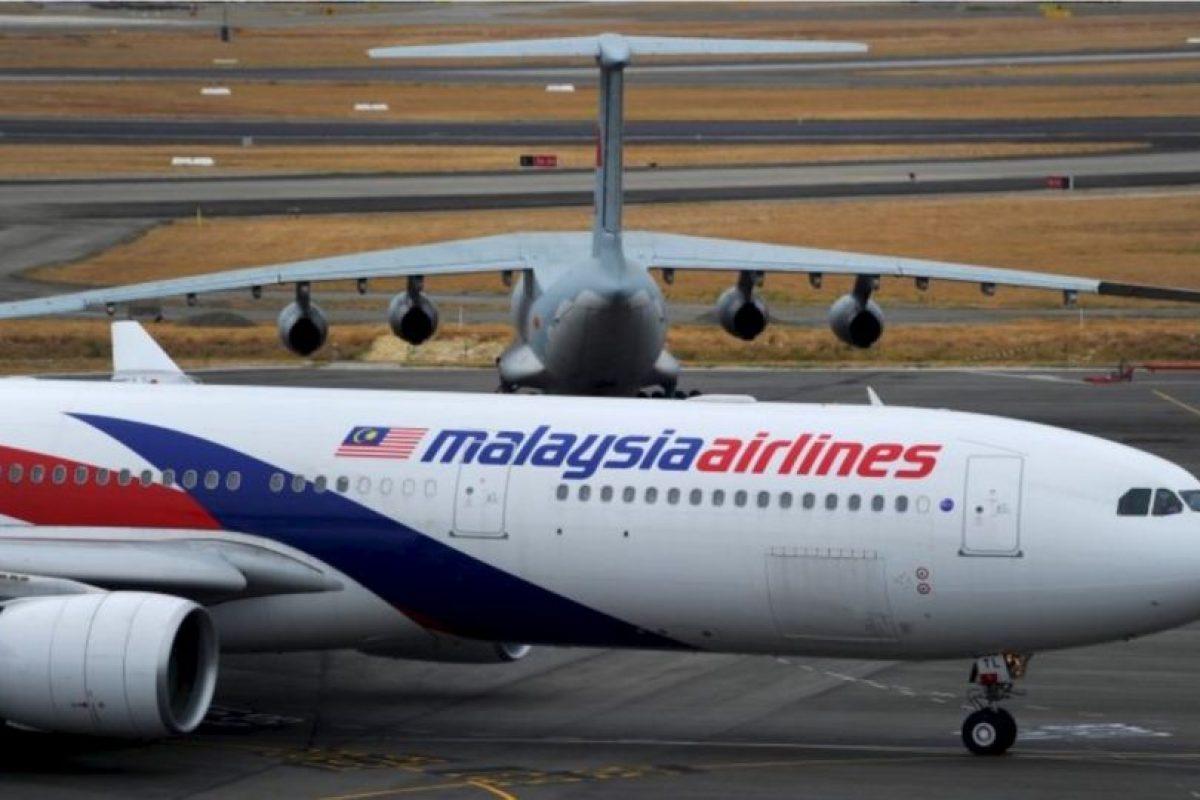 2. Un vuelo de Malaysia Airlines voló 8 minutos en otra dirección Foto:Getty Images. Imagen Por: