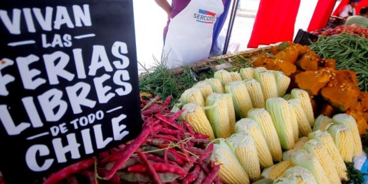 Ferias libres: ventas por puesto llegan a 1,5 millones de pesos
