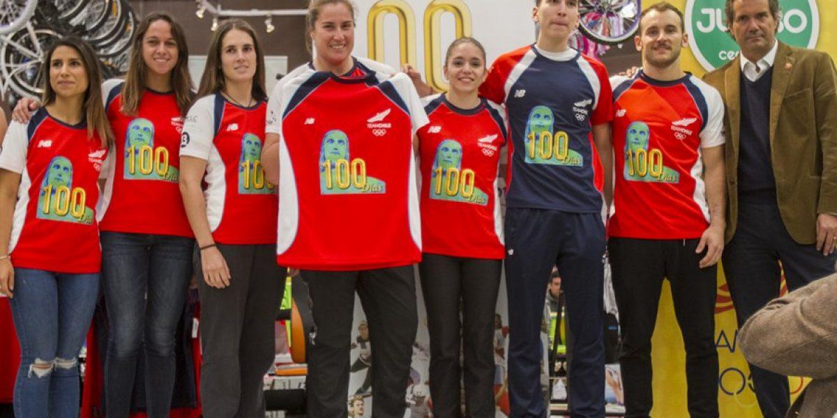 A 100 días de Río: Atletas nacionales prometen dejar a Chile