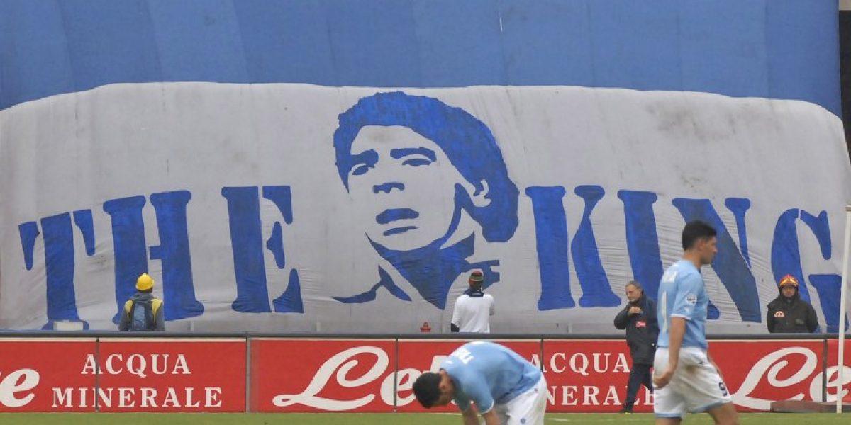 Diego Maradona le da un consejo al Napoli para triunfar en Europa