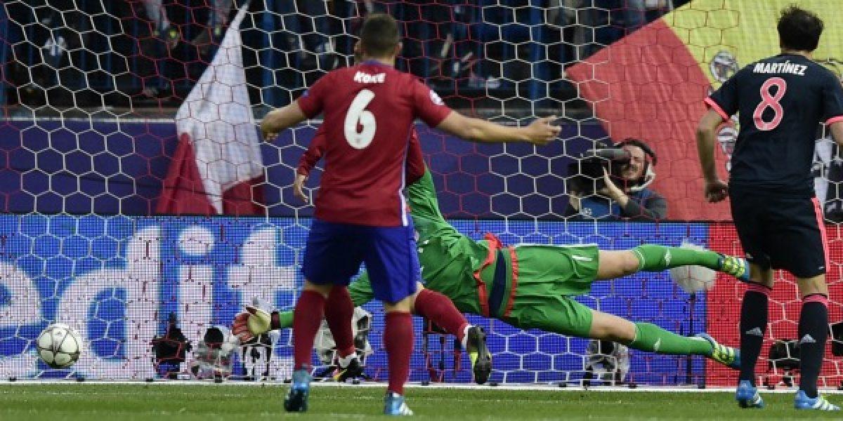 Así vivimos el buen colchón que sacó Atlético de Madrid ante el Bayern de Vidal