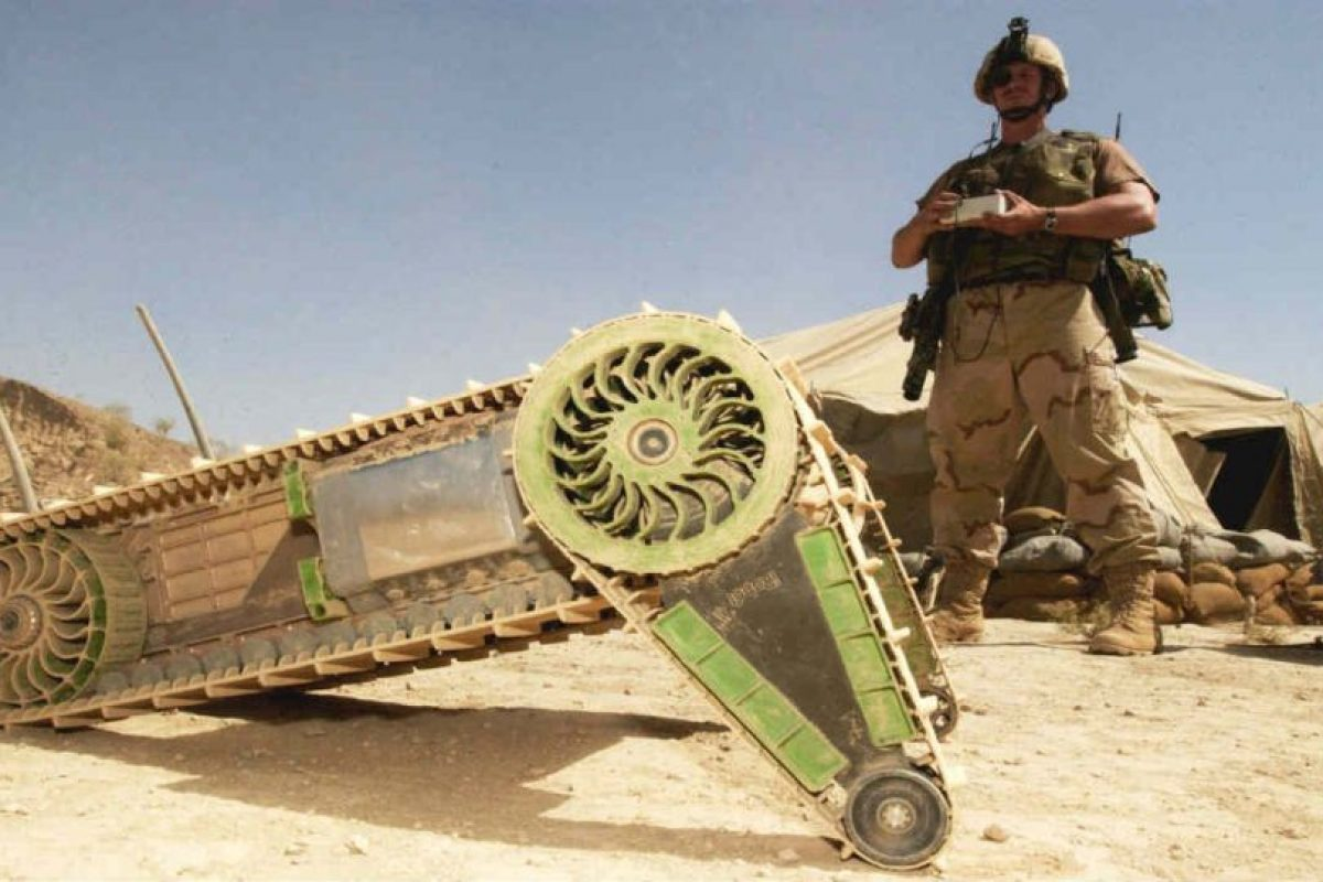 Según estudios militares, alrededor del 2018, el ejército estadounidense usará robots militares. Foto:Getty Images. Imagen Por: