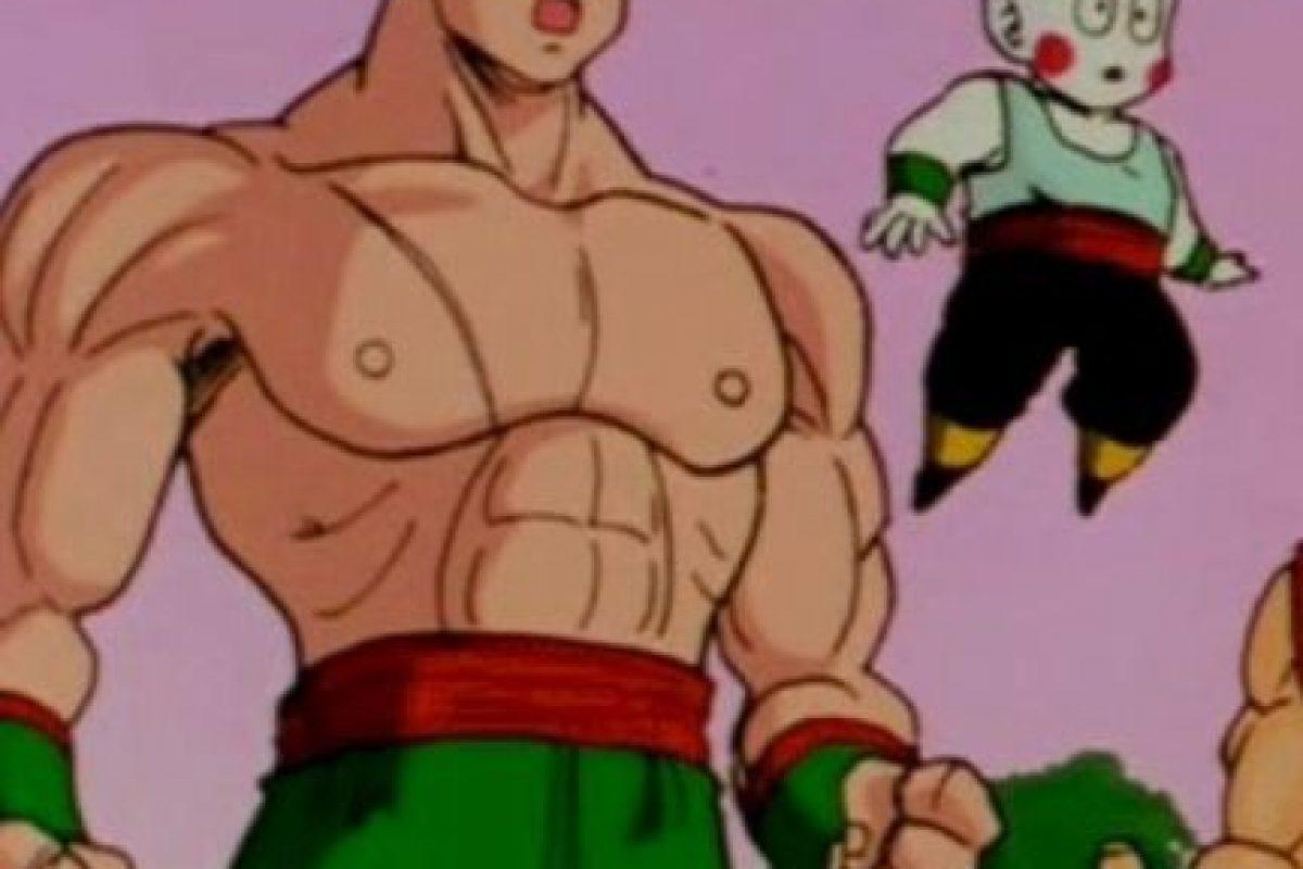 Ten Shin Han fue uno de los principales rivales de Gokú, para luego convertirse en su amigo. Es bastante disciplinado. Vive con Chaos, su mejor amigo. Foto:Toei. Imagen Por: