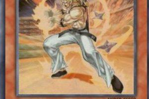 """La carta de Yu-Gi-Oh! llamada """"Tyler el Guerrero"""" se inspiró en Trunks del futuro. Foto:Tumblr. Imagen Por:"""