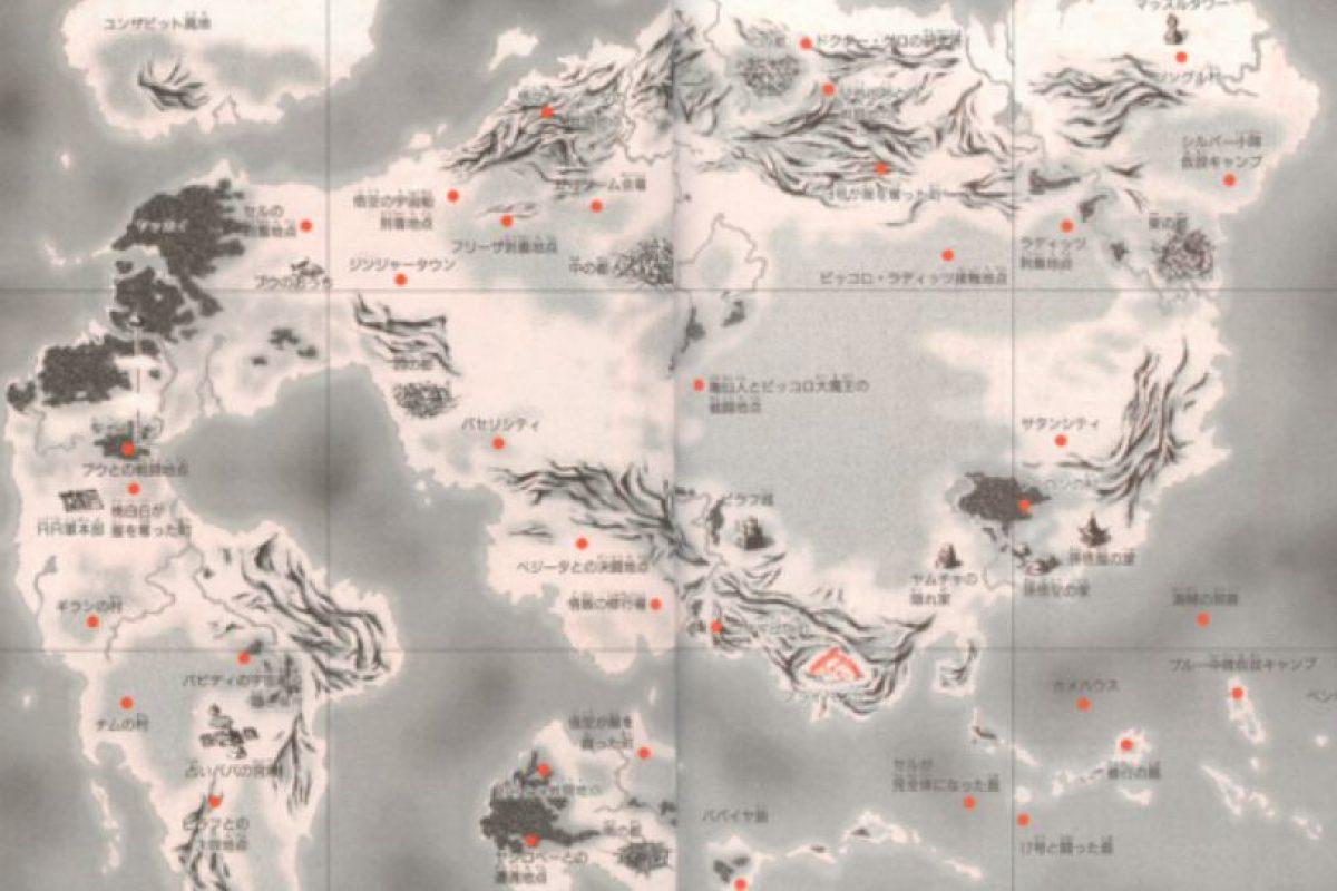 Este es en realidad el mundo de Dragon Ball. Foto:Toy-Tma. Imagen Por: