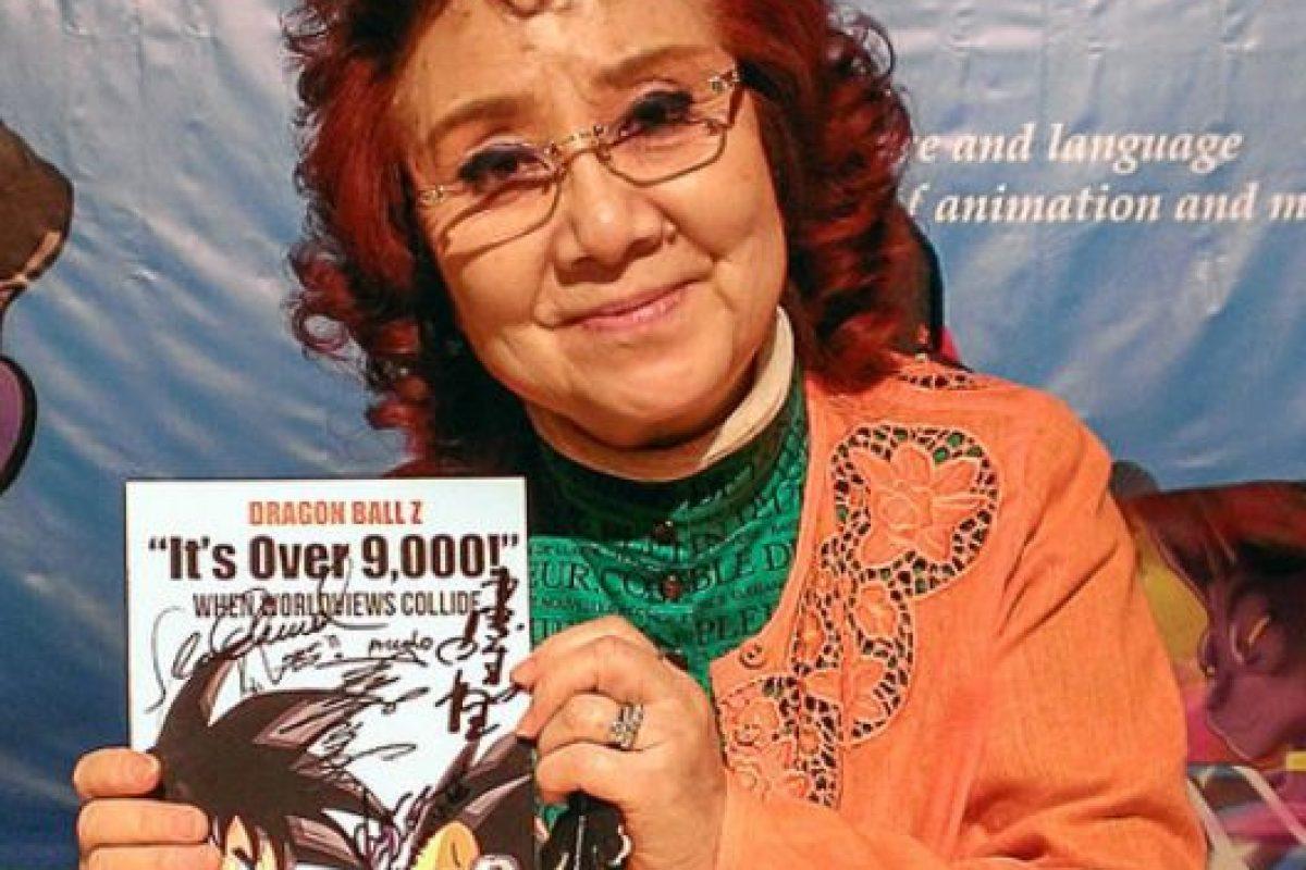La voz original de Gokú la hace una mujer. Se llama Masako Nozawa. Foto:DragonBallWorld. Imagen Por:
