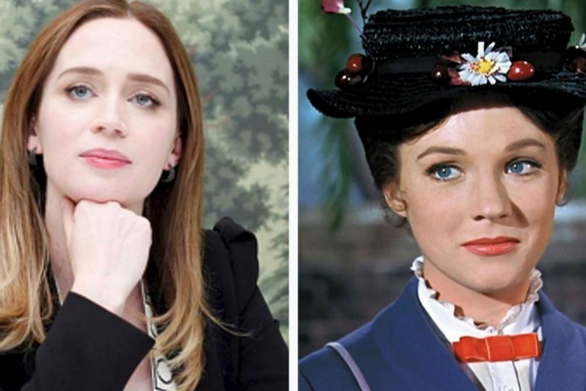 Mary Poppins será interpretada por Emily Blunt Foto: Getty Images/Disney. Imagen Por: