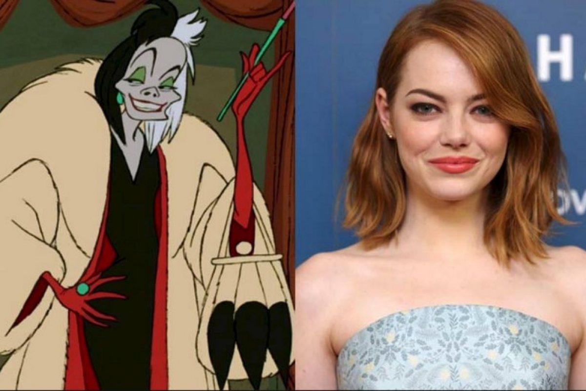 Cruella de Vill será ¡Emma Stone Foto:Getty Images/Disney. Imagen Por: