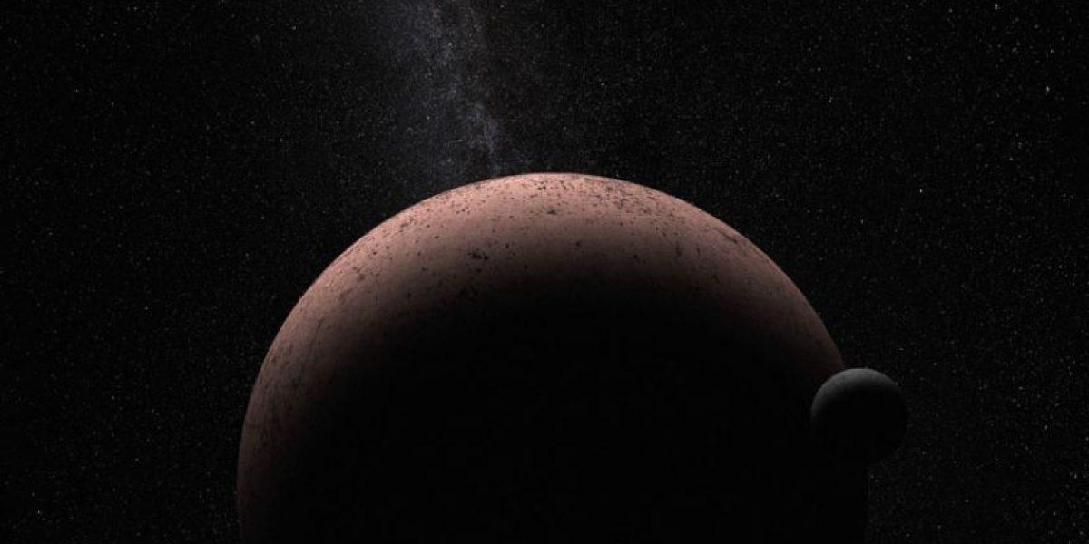 El telescopio Hubble descubre una luna nueva en el pequeño planeta Makemake