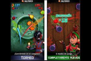 """Prueben sus reflejos con """"Fruit Ninja"""". Foto:App Store. Imagen Por:"""