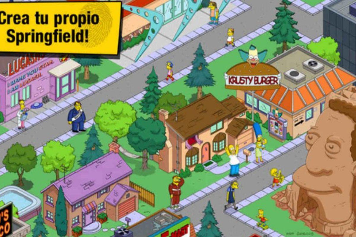 """""""Los Simpson: Springfield"""" nos hará pasar horas de entretenimiento. Foto:App Store. Imagen Por:"""