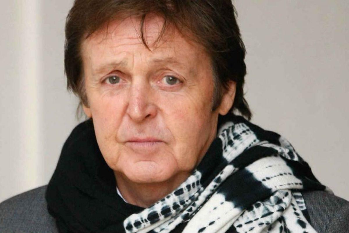 8.- Paul McCartney Foto:Getty Images. Imagen Por: