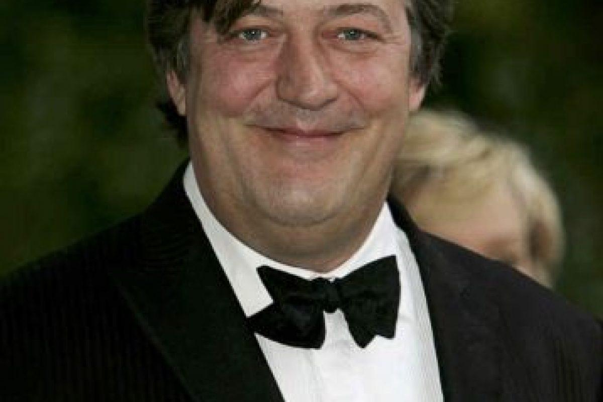 9.- Stephen Fry Foto:Getty Images. Imagen Por:
