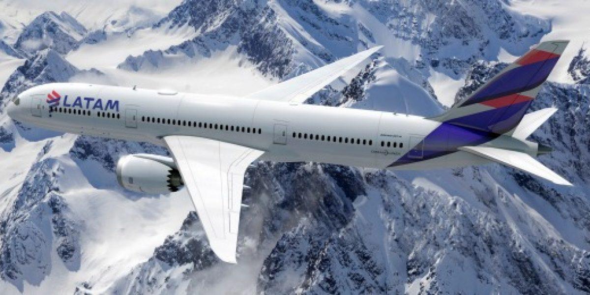 Latam estrenó el nuevo diseño de sus aviones