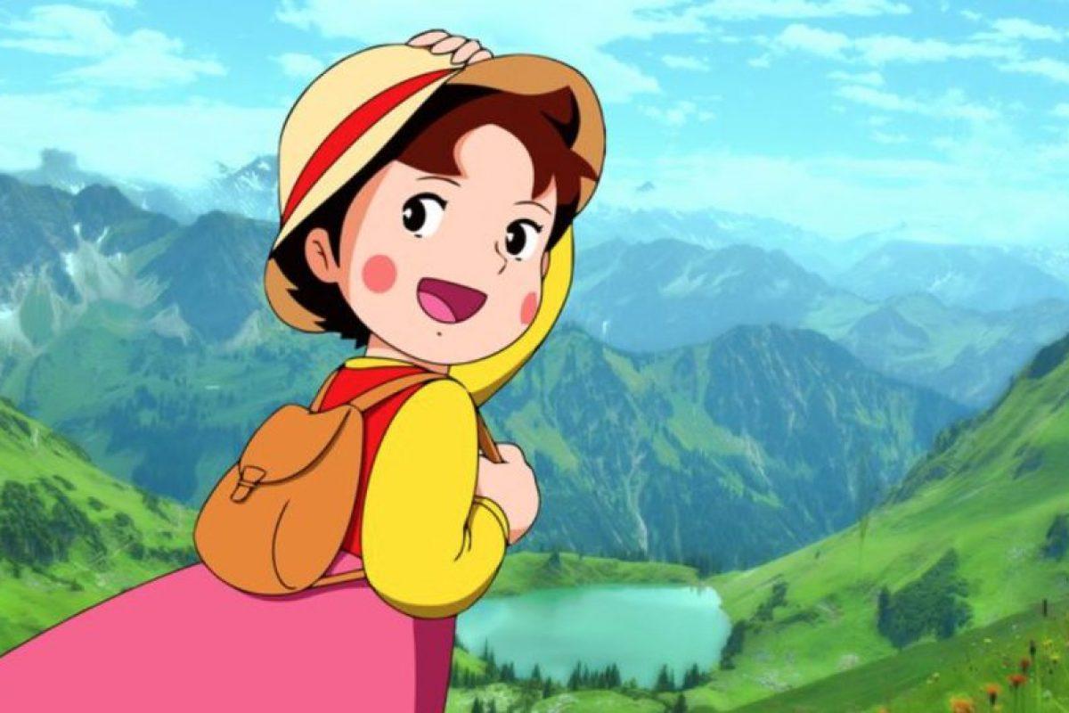 Constó de 52 episodios y se basó en el libro homónimo de Johanna Spyri. Foto:vía Fuji TV. Imagen Por: