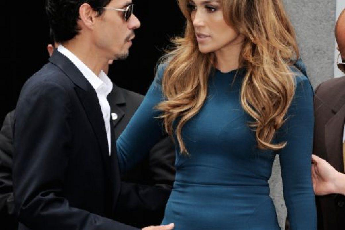 El matrimonio de Jennifer Lopez y Marc Anthony también parecía bien avenido. Foto:vía Getty Images. Imagen Por: