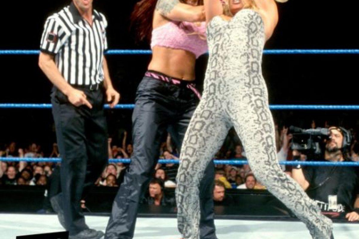 rRish Stratus en su debut en 2000 Foto:WWE. Imagen Por: