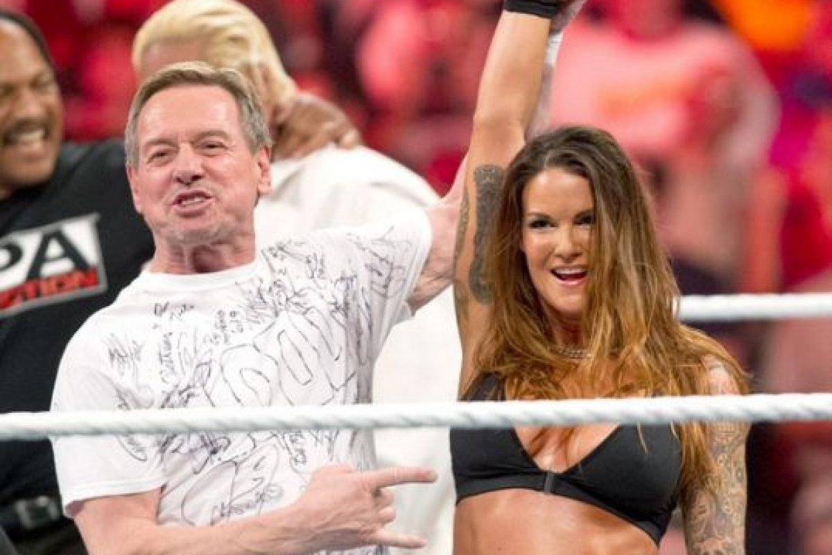 Así lucía en 2012 Foto:WWE. Imagen Por: