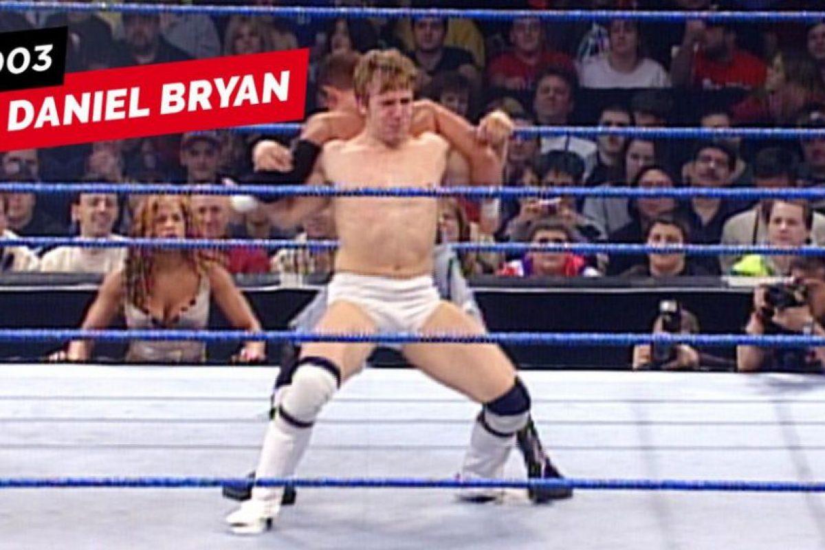 Daniel Bryan en 2003 Foto:WWE. Imagen Por: