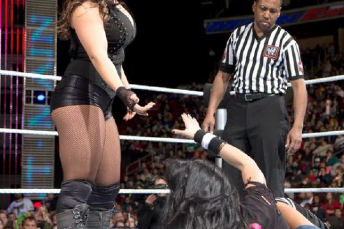 Kaitlyn en 2014 Foto:WWE. Imagen Por: