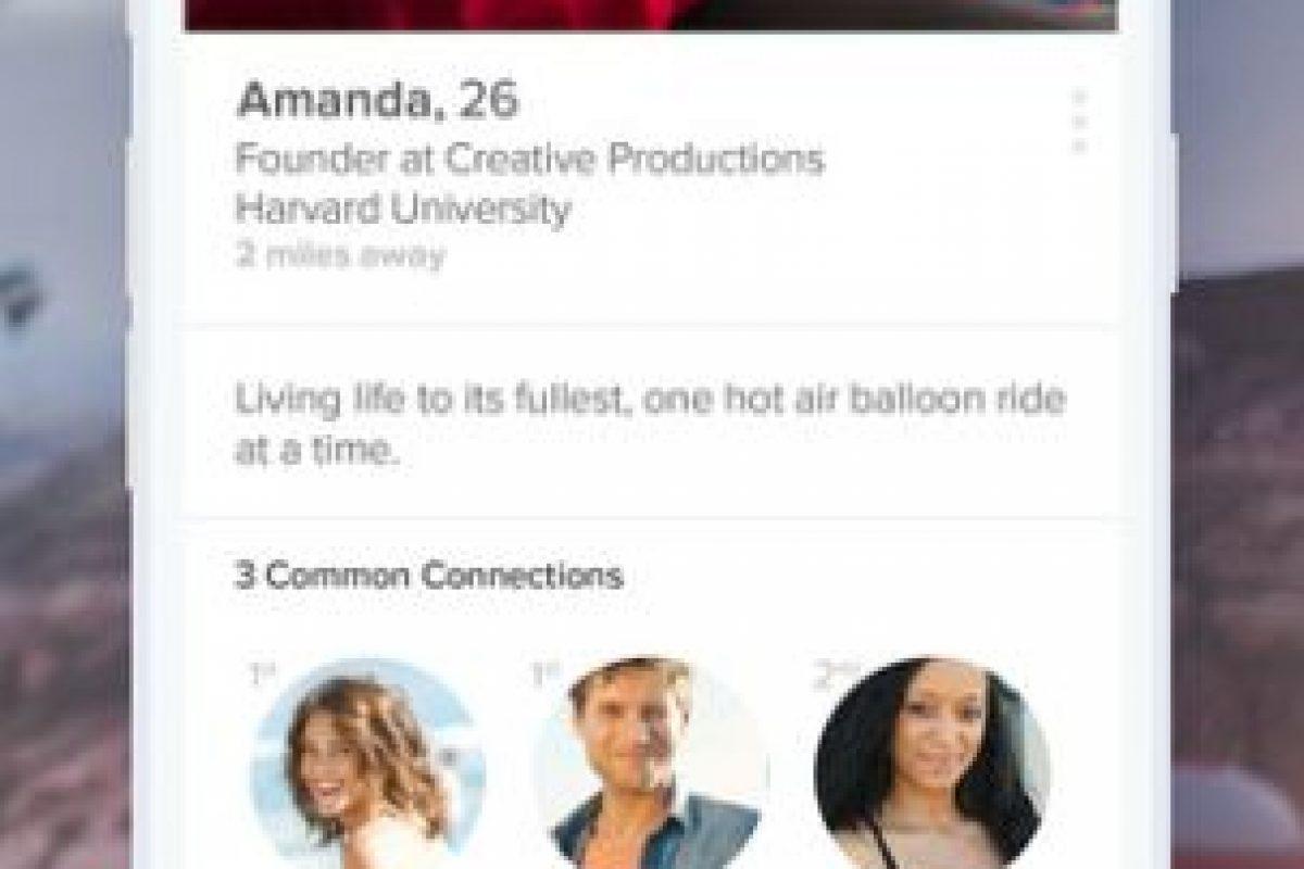 Algunos otros lo ocupan para engañar a sus parejas. Foto:App Store. Imagen Por: