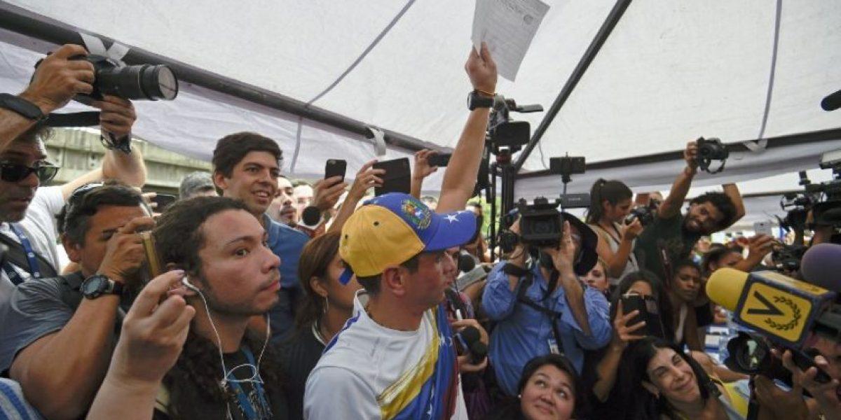 Oposición completó firmas para activar revocatorio contra Maduro en Venezuela