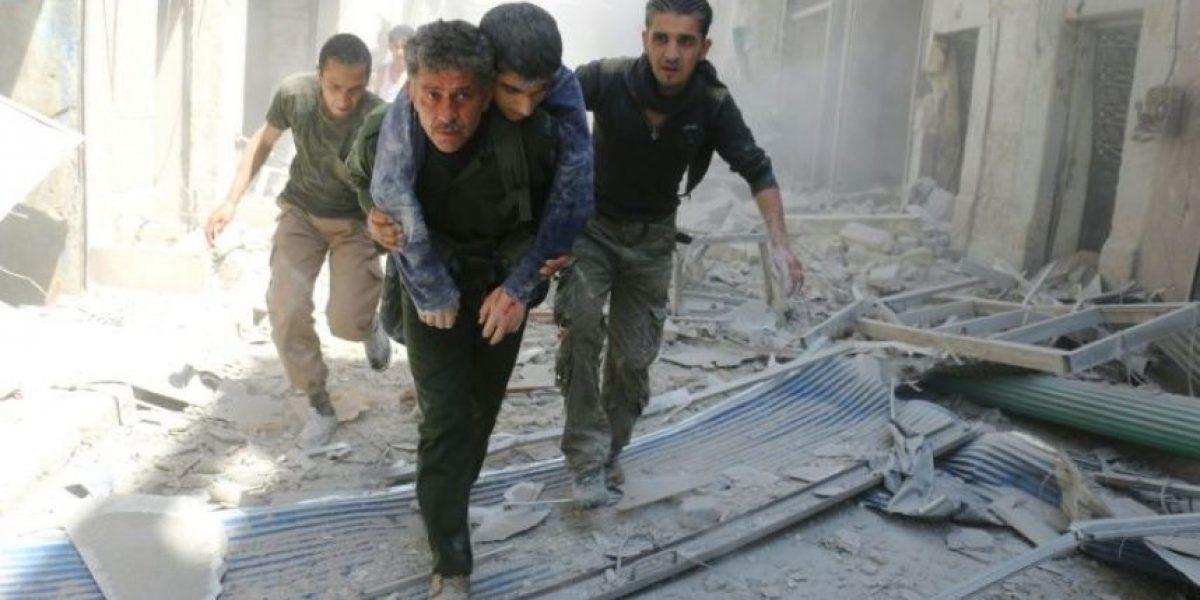 Un bombardeo alcanza a una clínica en la zona rebelde de Alepo
