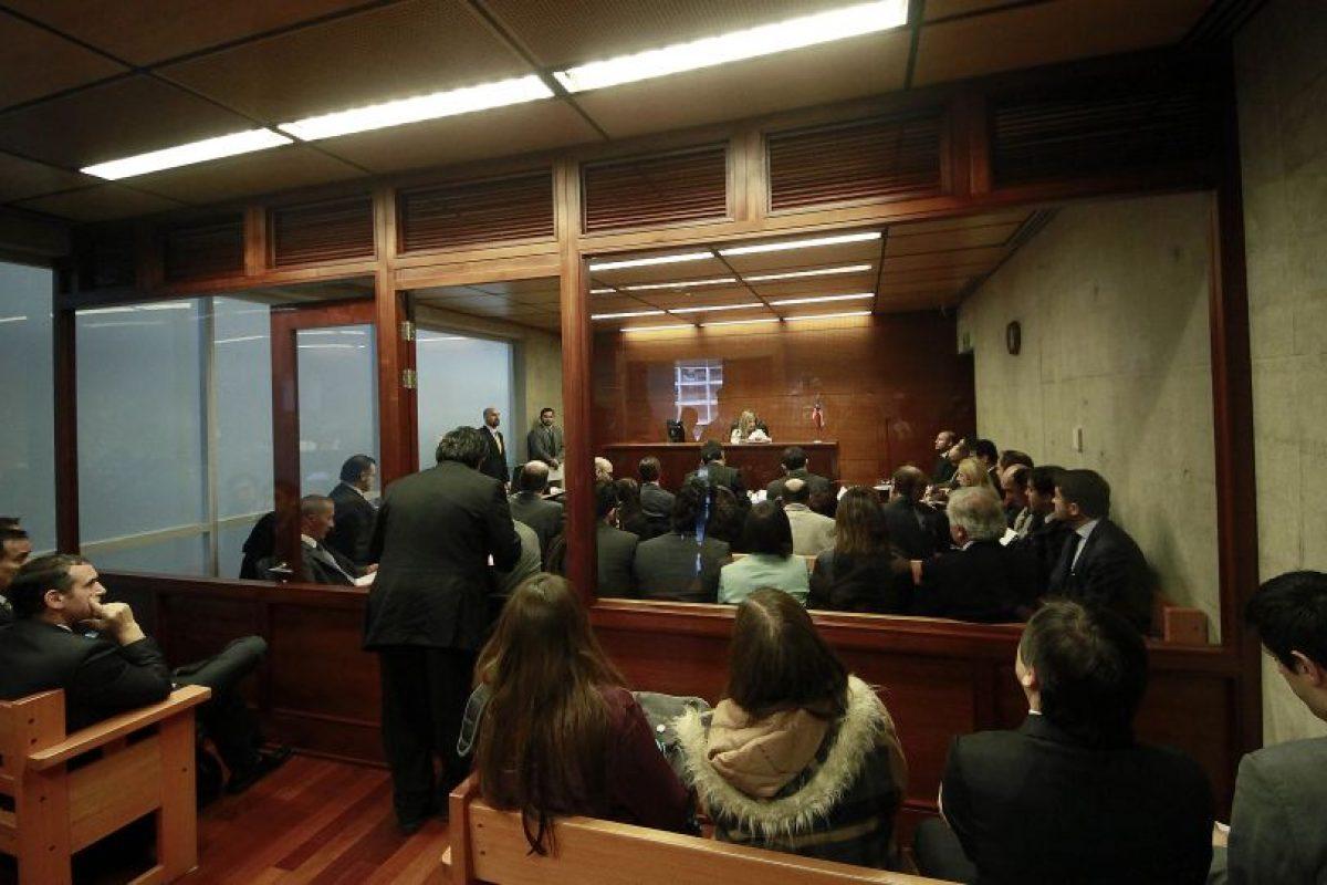 Formalizacion en ausencia en contra de Alberto Chang Foto:Agencia Uno. Imagen Por: