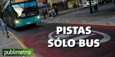 Infografía: pistas sólo bus