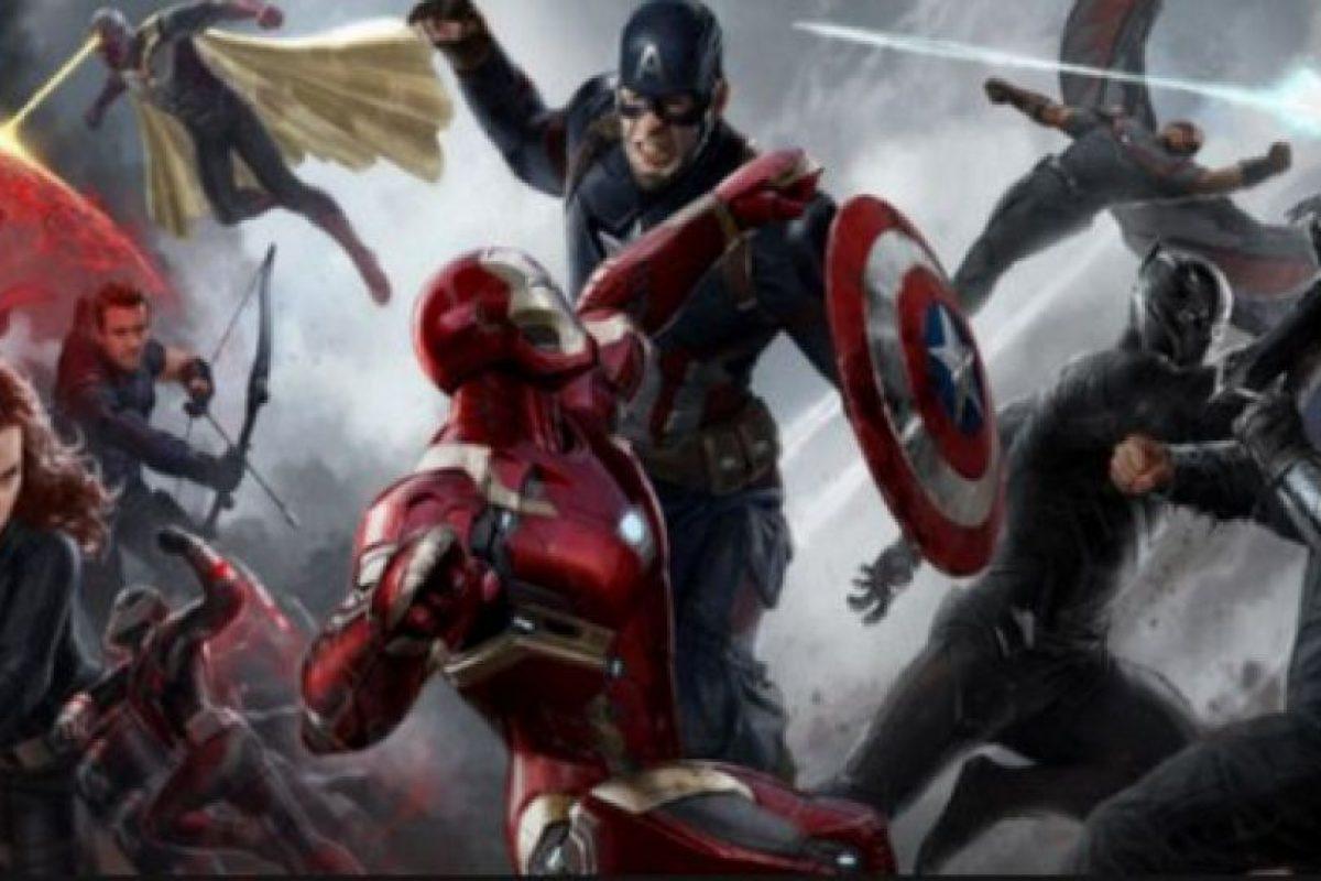 De Capitán América vs IronMan Foto:Marvel. Imagen Por: