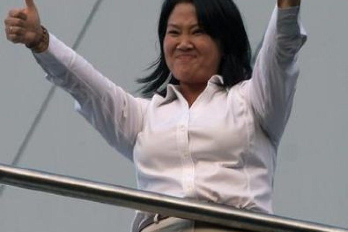 La candidata Keiko Fujimori Foto:AP. Imagen Por: