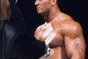 Batista en 2002 Foto:WWE. Imagen Por: