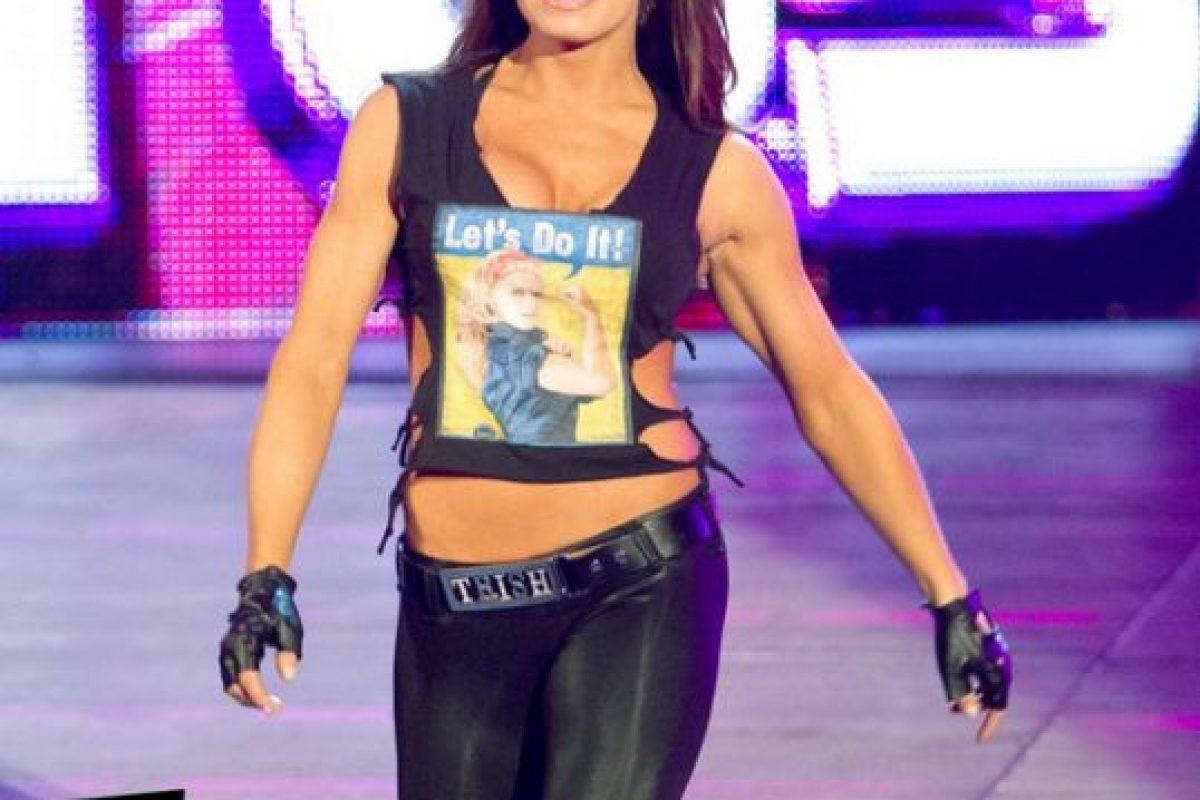Trish en su última presentación, en 2011 Foto:WWE. Imagen Por: