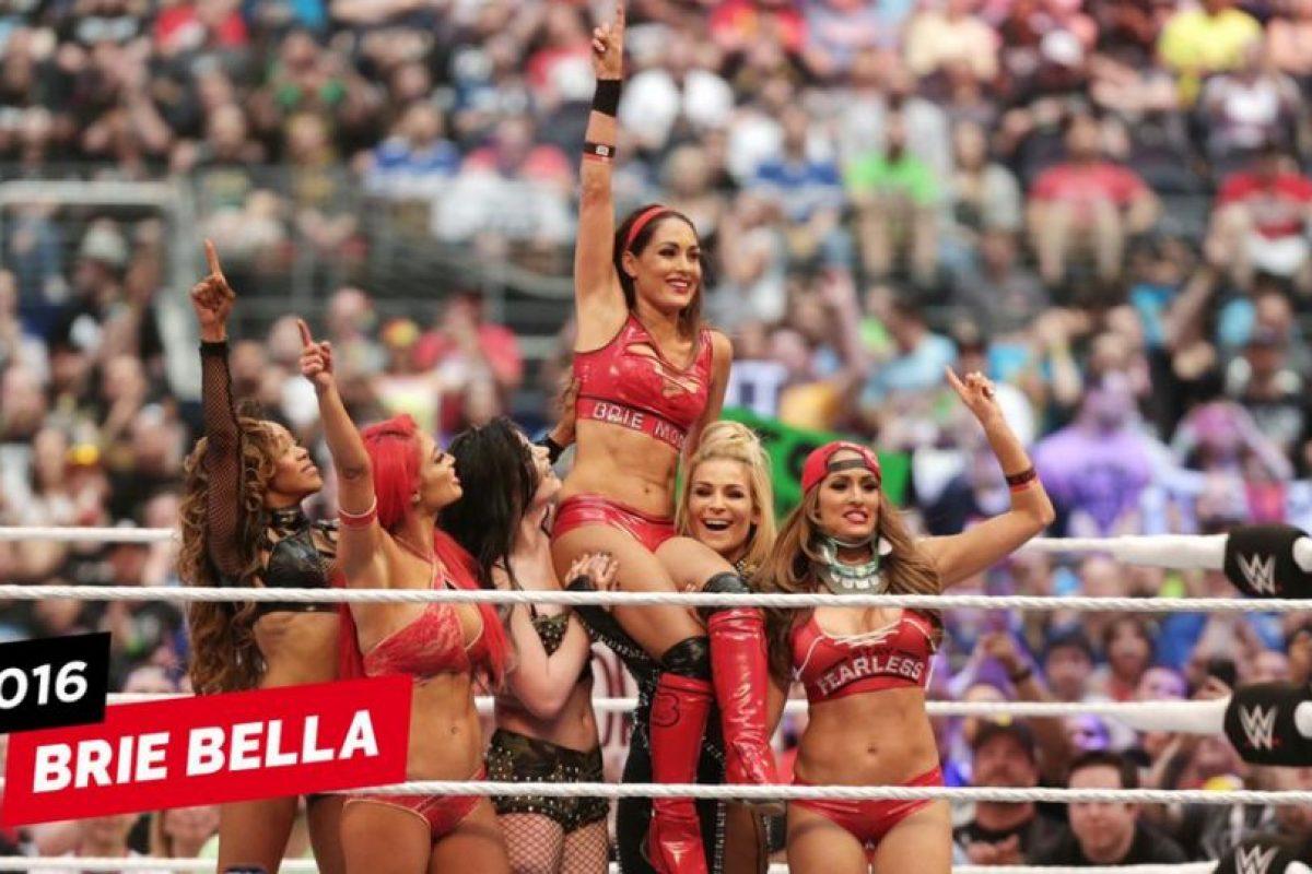Y se retiró en en el pasado Wrestlemania Foto:WWE. Imagen Por: