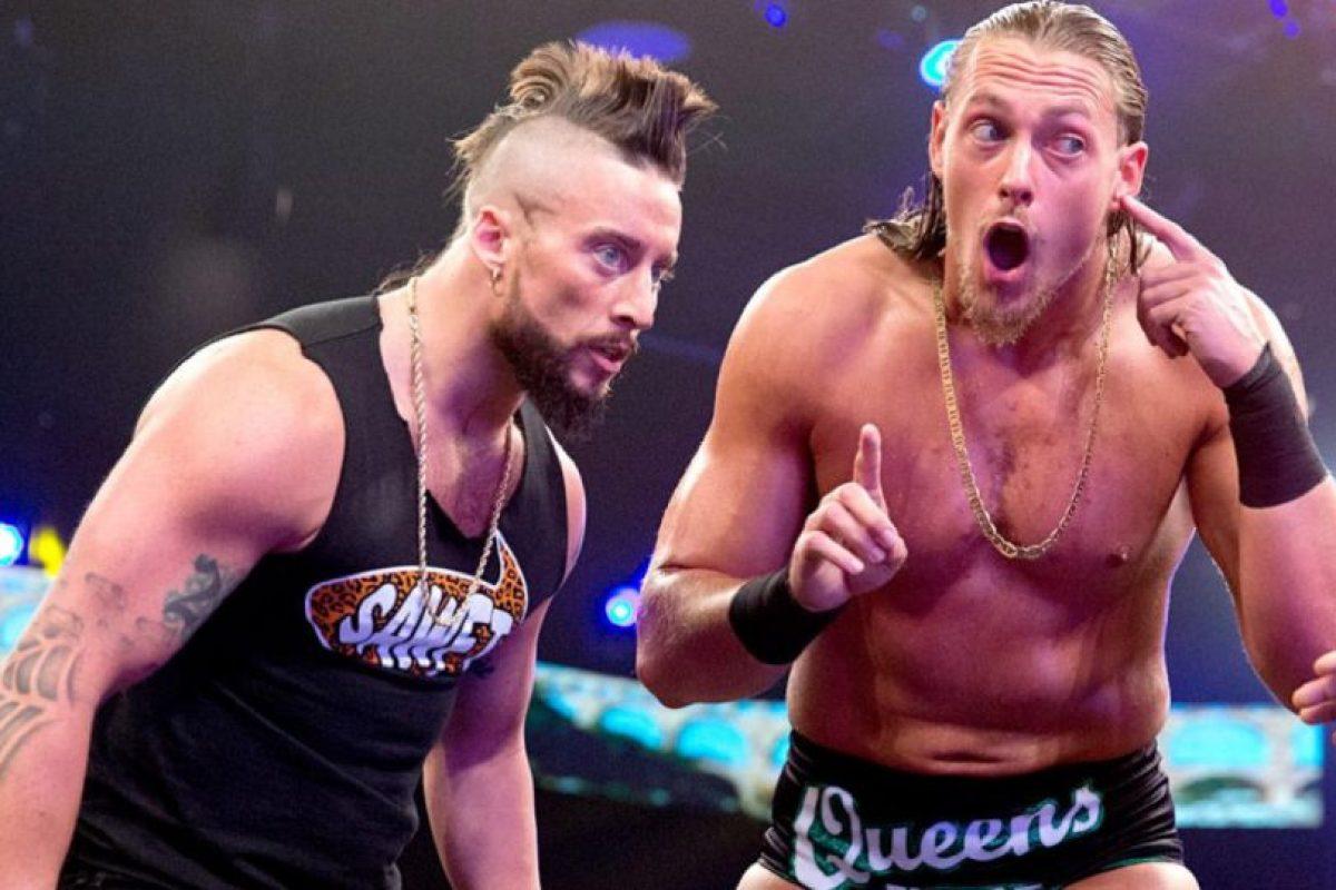 Se medirán con Enzo Amore y Colin Cassady. El ganador tendrá una oportunidad titular Foto:WWE. Imagen Por: