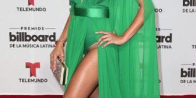 El revelador vestido de Zuleyka Rivera en los Billboard 2016