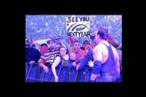 Tiene un récord en Wrestlemania de 23 victorias y una derrota Foto:Vía twitter.com/WWEMarkWCalaway. Imagen Por: