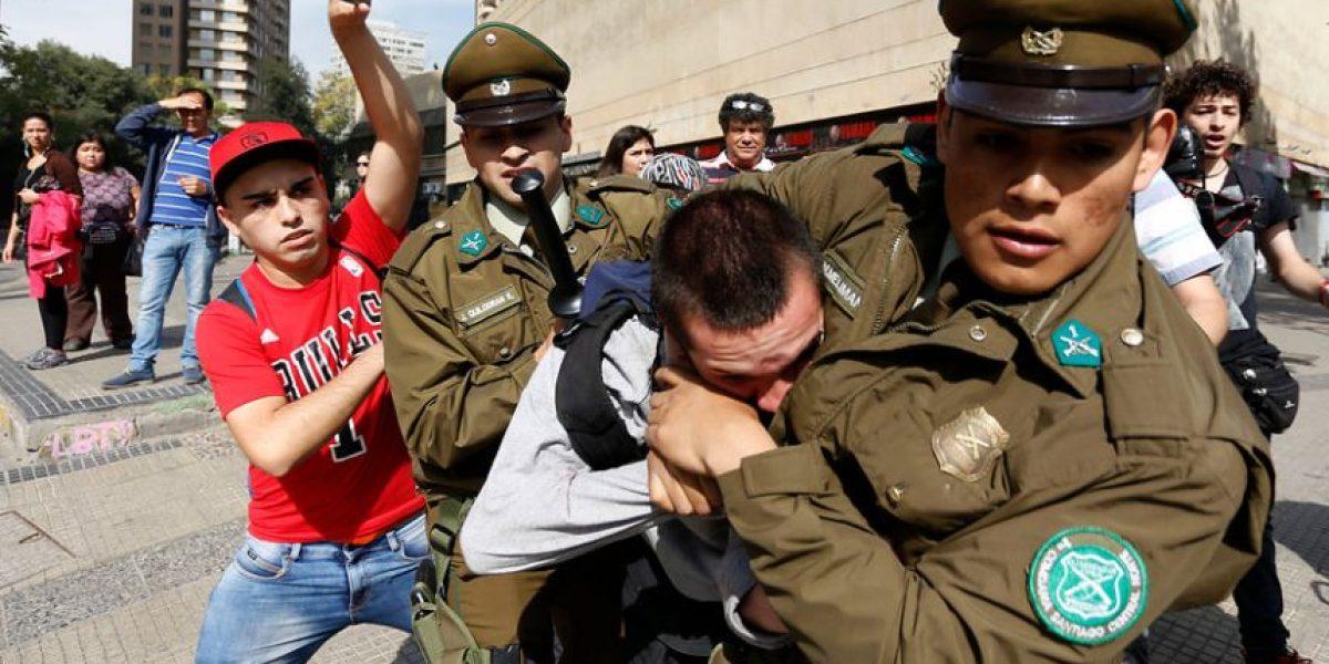 Manifestaciones a favor y en contra de ley antidelincuencia terminan con incidentes