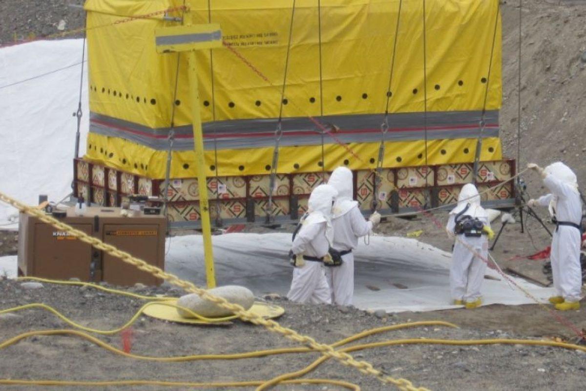 En Hanford Site se realizan constantes labores que implican movilizar material nuclear. Foto:Energy.gov. Imagen Por:
