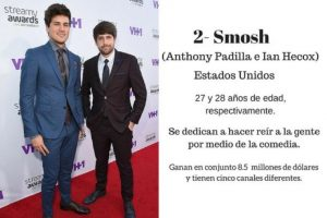 Smosh Foto: Getty Images. Imagen Por:
