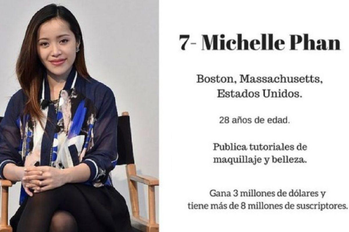 Michelle Phan Foto:Getty Images. Imagen Por: