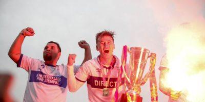 Católica campeón: revisa en imágenes la celebración del equipo y los hinchas cruzados