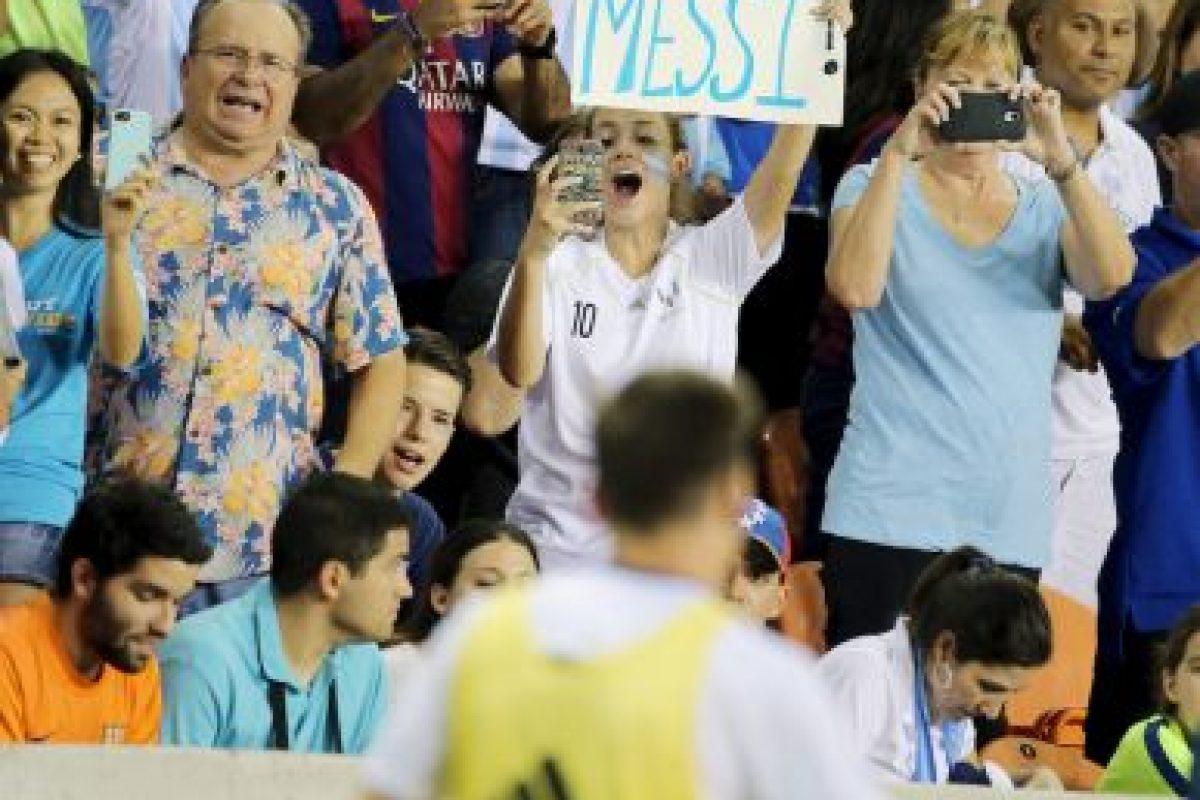 Messi formará parte de la selección de Argentina que disputará la Copa América Centenario Foto:Getty Images. Imagen Por: