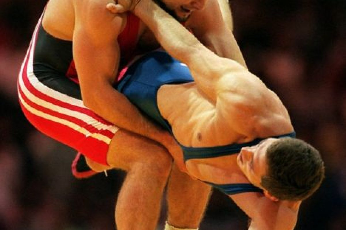 Él ganó la medalla de oro en lucha olímpica en Atlanta 1996 Foto:AP. Imagen Por: