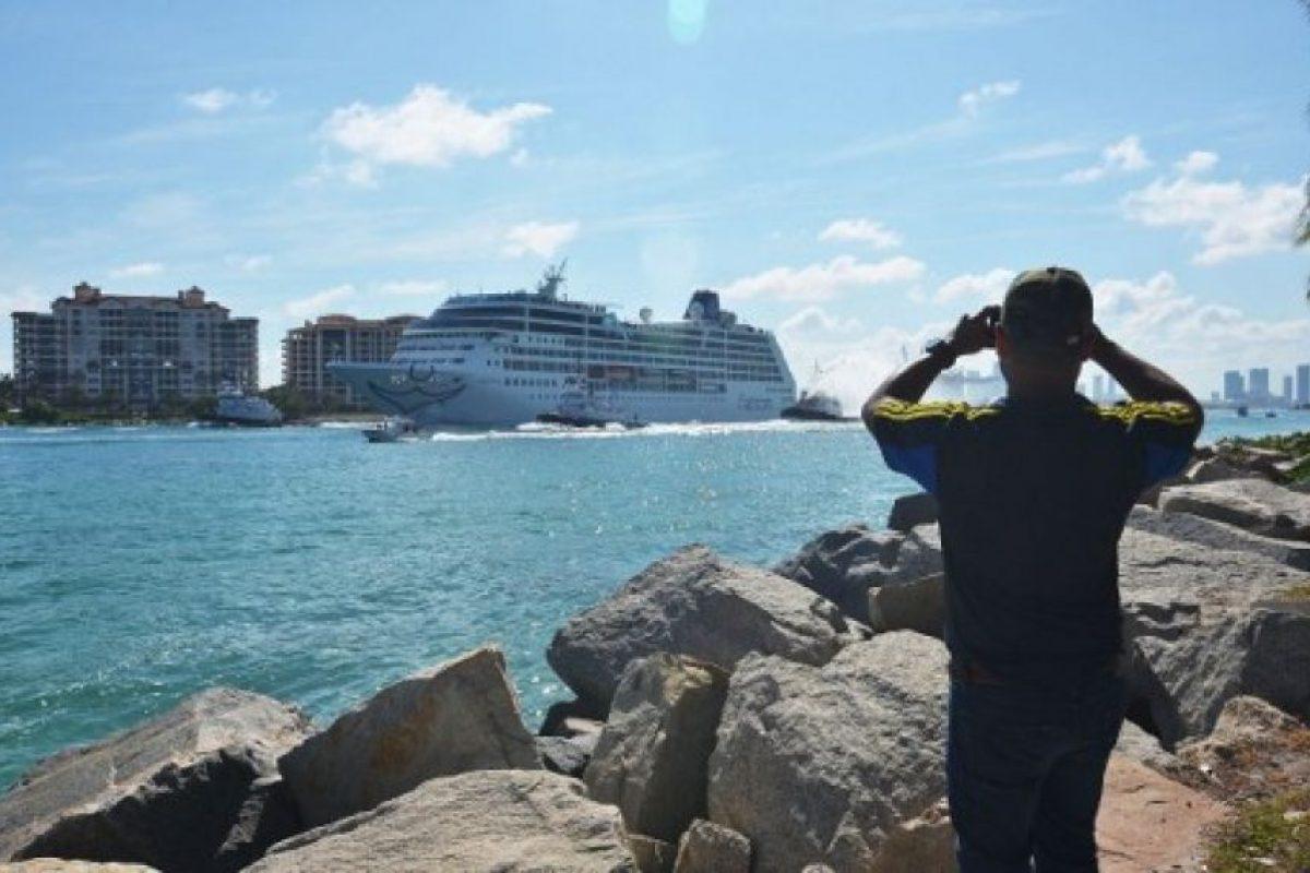 Los cruceros entre ambos países desaparecieron tras la revolución cubana en 1959. Foto:AFP. Imagen Por: