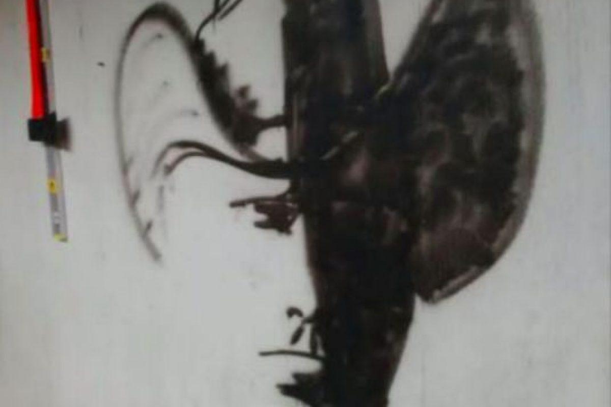 Esta ilusión óptica se volvió viral hace poco. ¿Ustedes qué ven? En realidad es un vaquero. Foto:Tumblr. Imagen Por: