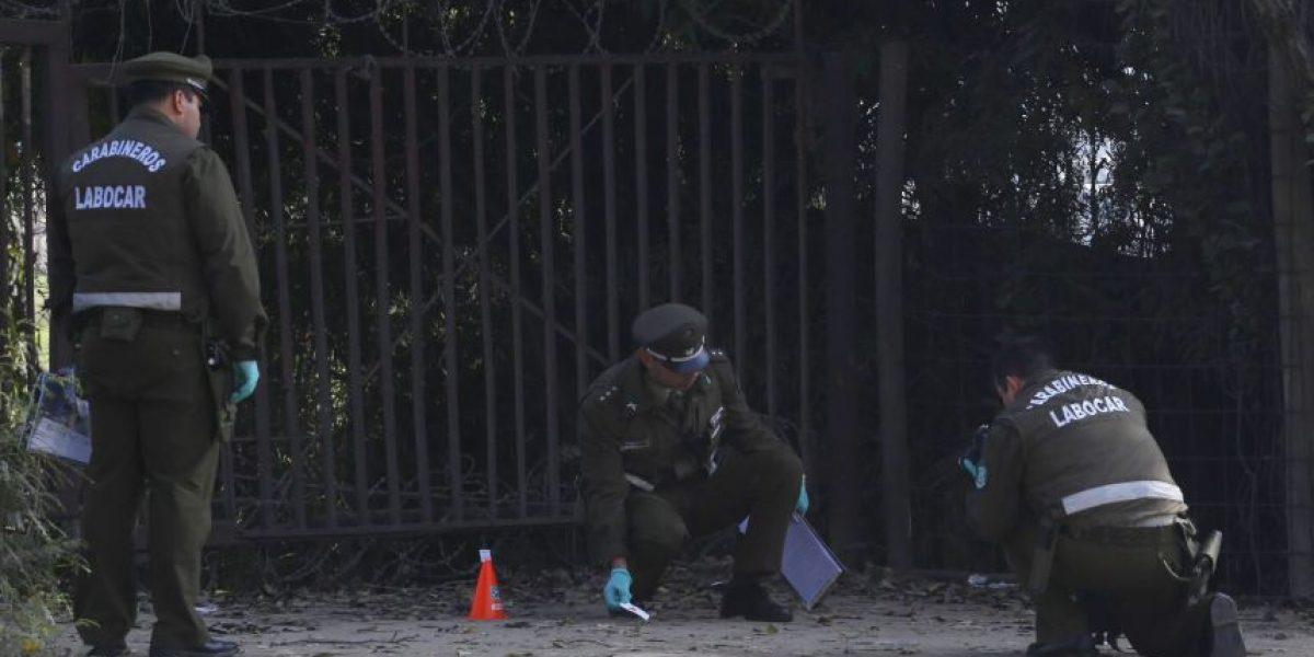 Investigan ataque explosivo en Centro de Perfeccionamiento de Carabineros en Cerrillos