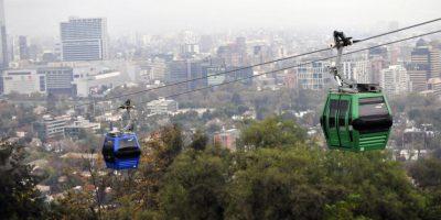 Parque Metropolitano probó las nuevas cabinas del renovado teleférico de Santiago