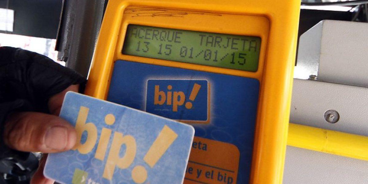 Anuncian ampliación de un 40% de los puntos de carga de la tarjeta bip!