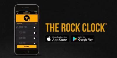 The Rock Clock: la app para despertar como el